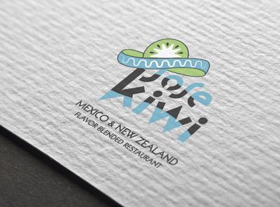 Jose Kiwi Logo Branding Design