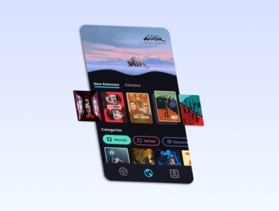 Streaming App Concept