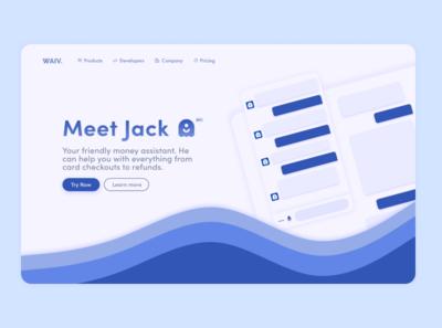 Landing Page - DailyUI  003