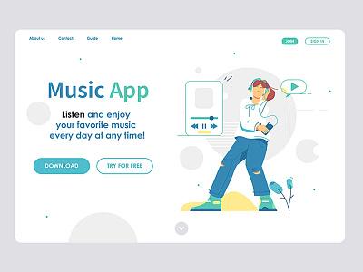 Site design designer graphic pic customization development website mobile style flat application music developing illustration vector template scheme page landing design site