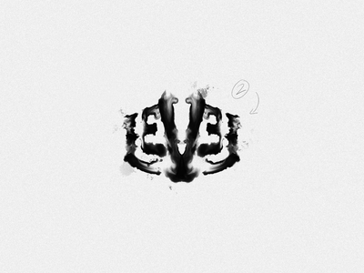 Level - Rorschach rorschach design illustration print poster logo typography handlettering type lettering