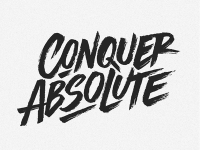 Logotype 'Conquer Absolute'