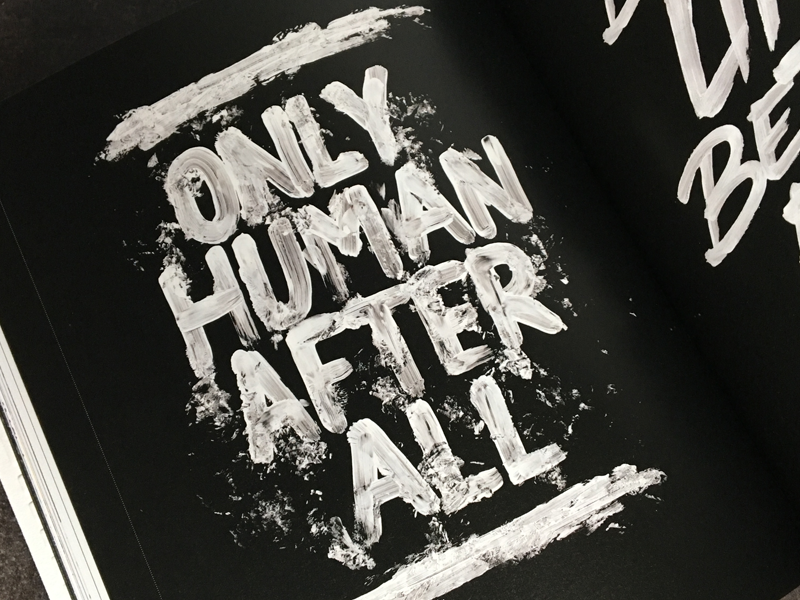 """""""Handstyle Lettering"""" book feature book branding concept print paint calligraphy brush logo typography type lettering handlettering"""
