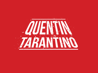 Tarantino Logo quentin tarantino design minimal logotype logo daily logo challenge dribbble