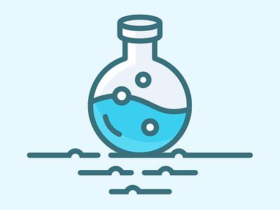 Lab bottle bottle lab icon