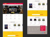 E-commerce shop redesign