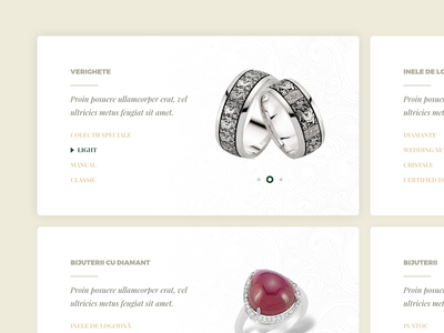 Product card categories card jewelry products
