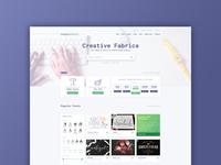 Creative Fabrica redesign