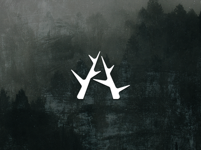 Antlers logo mark mark logo antlers