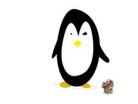 Drunk pinguïn is drunk