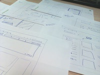 Wireframing - start of the day