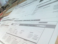 Wireframing - end of the day