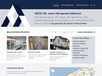 Deco-inn Homepage v2