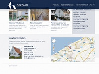 Deco-in Homepage Scrolling Effect