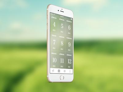 Falsterbo Horse Show 2015 iphone ux ui app event