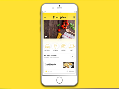 Foodwish - Food Order & Delivery App