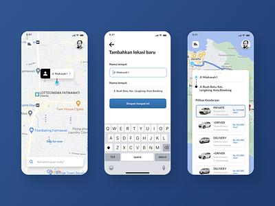 Sewakeun Car Rental   Part 2 car rental car rental app user interface ux ui ios design mobile app design mobile app mobile ui