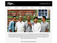 Hijr Studio Email Template