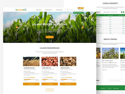 Agrowing Lelang  vegetable service order maps location local indonesia fruit farmer e-commerce bid agent