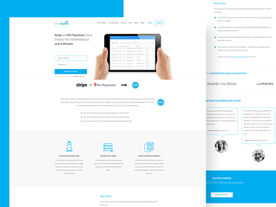 Silver Siphon Concept layout web ui landing synchronisation data silver siphon redesign