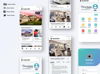 Construction Project Showcase App