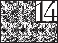 Floral Patterning (Table Numbers)