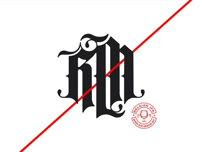 RM Blackletter Mark
