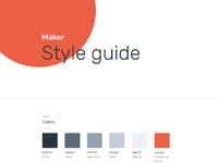 Styleguidesmaker