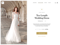 Wedding Dress Product Page