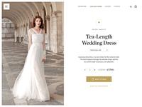Wedding Dress Product Page