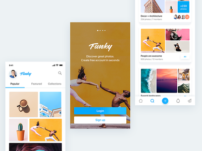 Funky Photo App
