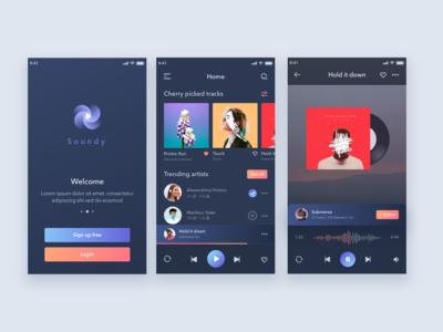 Soundy Mobile Music App
