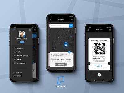 Parking app UI Design