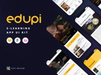 Edupi - E-Learning App UI Kit