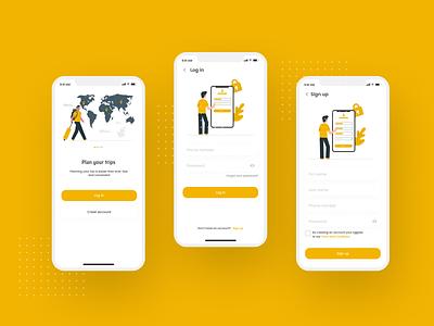 WeeklyUI #01: Sign In / Sign Up Screens Design challenges app design creative mobile app