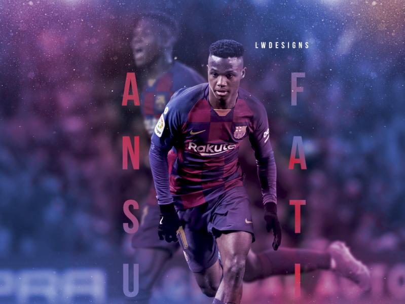 Ansu Fati Fc Barcelona By Liam Whyte On Dribbble
