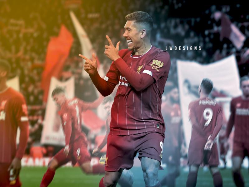 Liverpool Wallpaper Roberto Firmino