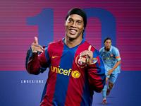 Ronaldinho Gaúcho - FC Barcelona - Brazilian Legend