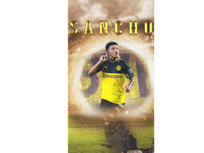 Jadon Sancho - Portal From Manchester City to Dortmund