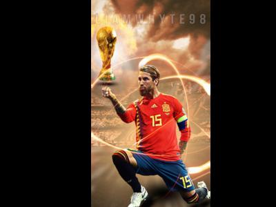 Sergio Ramos - 'World Cup Winner'