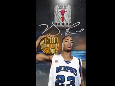 Derrick Rose - 'Basketball Hall Of Fame'