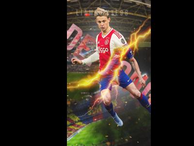 Frankie De Jong - Ajax x Barcelona Crossover