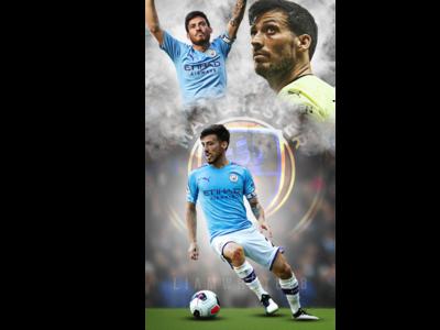 David Silva - Manchester City's Spanish Midfielder