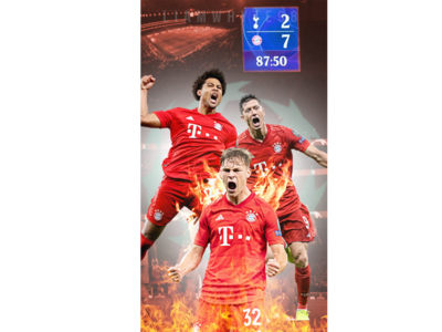 Champions League Group Stage Day 3 - Bayern Put 7 Past Spurs