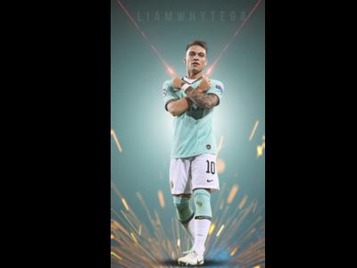 Lautaro Martínez - Milan's Argentina Striker - 10 Minute Design
