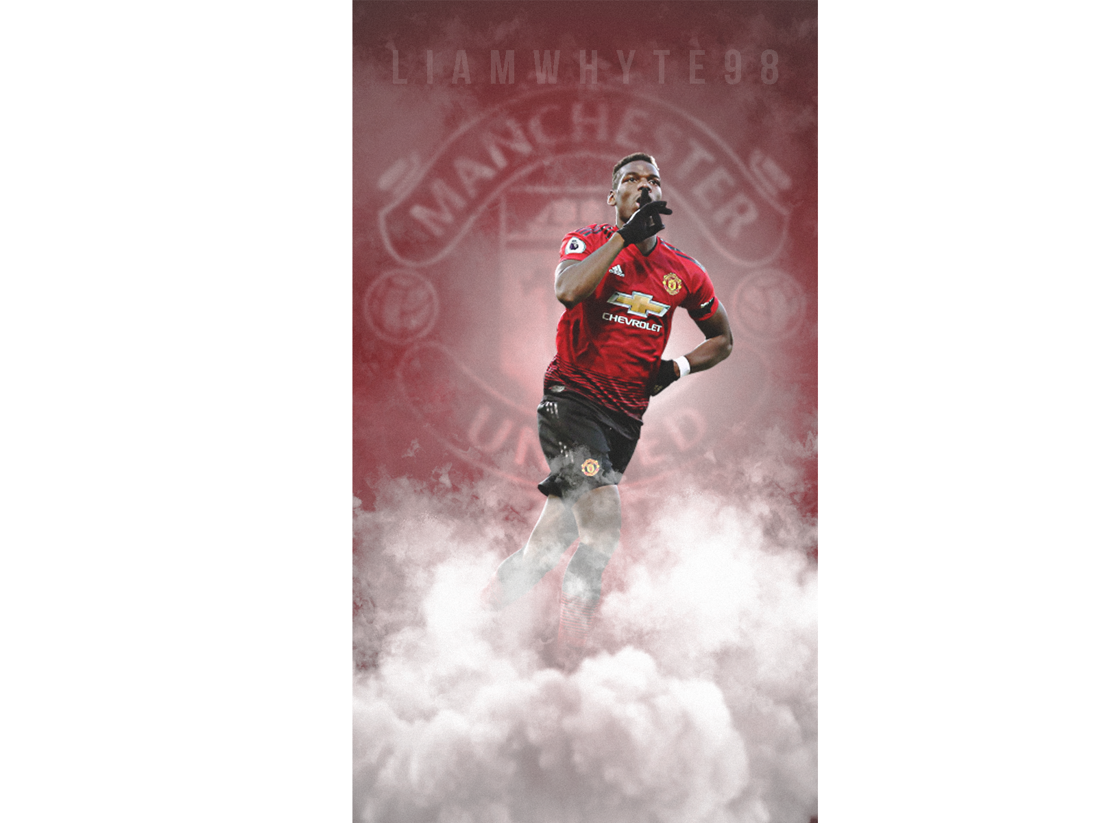 Paul Pogba Quieting The Haters By Liam Whyte On Dribbble