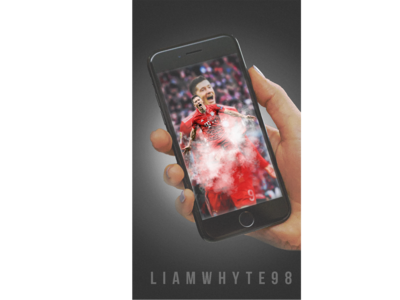 Robert Lewandowski - Through the Lens of An iPhone