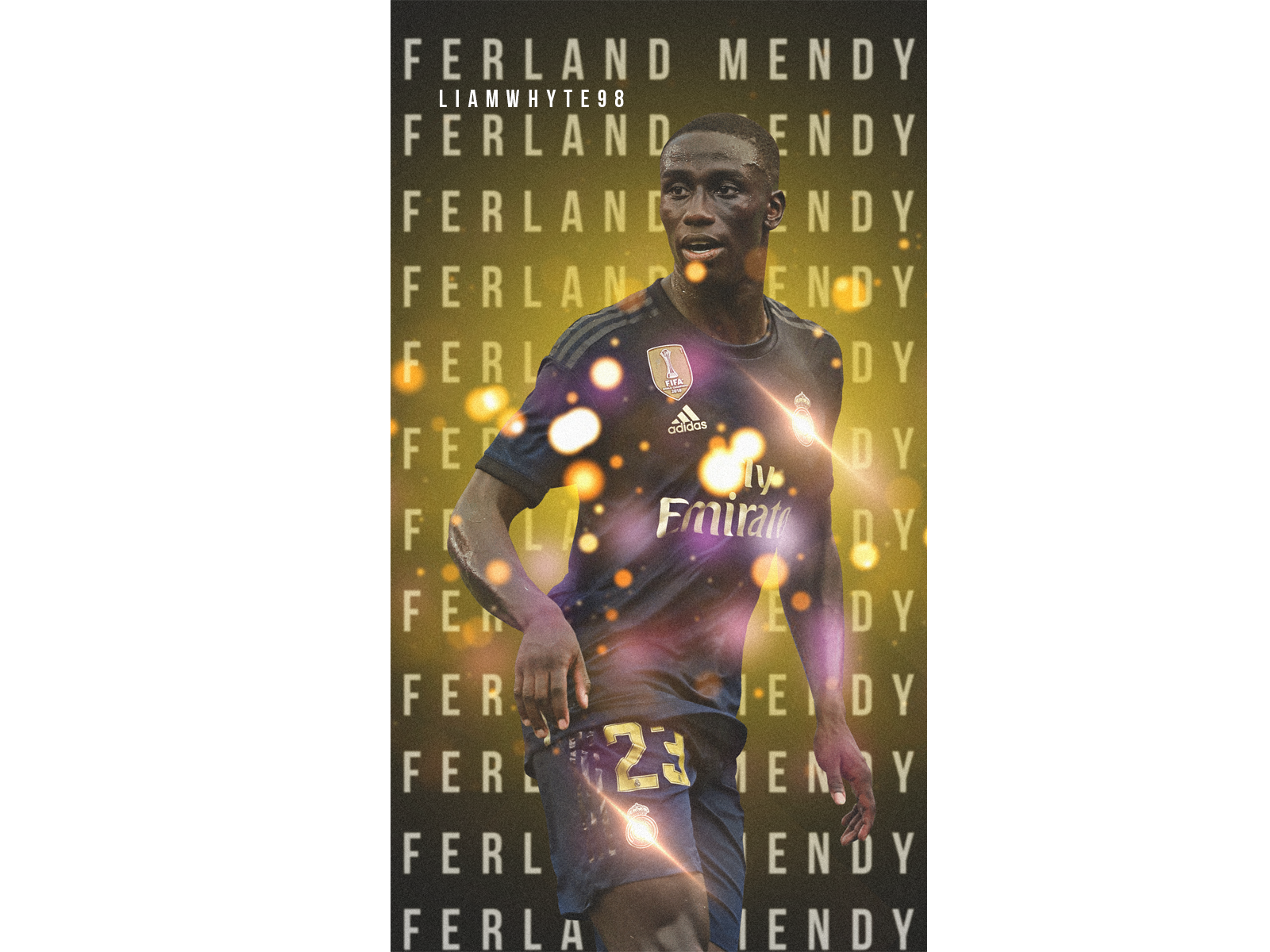 Ferland Mendy Real Madrid S French Left Back By Liam Whyte On Dribbble