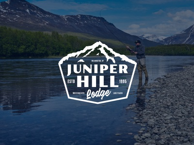 Juniper Hill Brand Identity Concept mountains national park service parks logo branding design