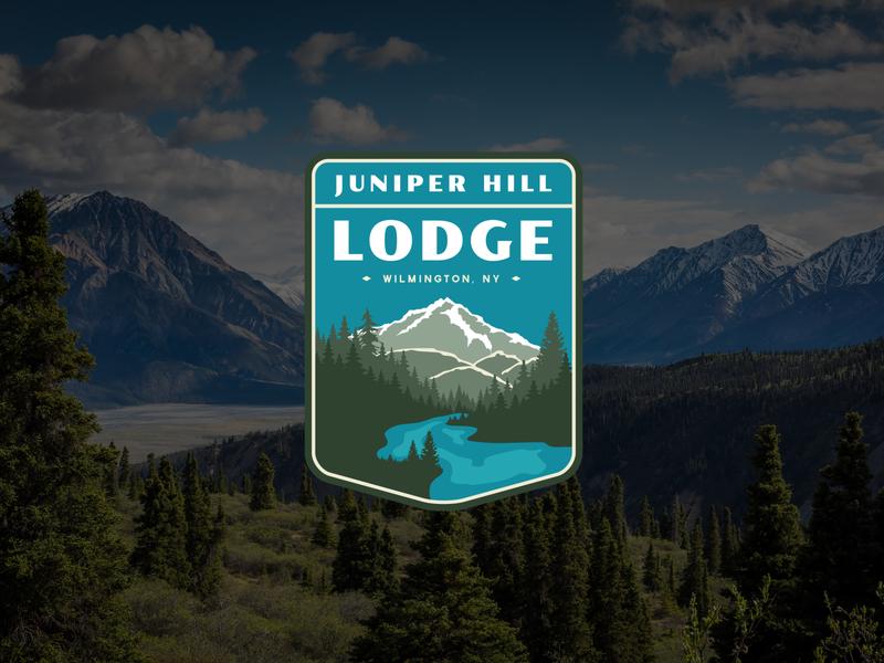 Juniper Hill Brand Identity Concept 3 design branding logo